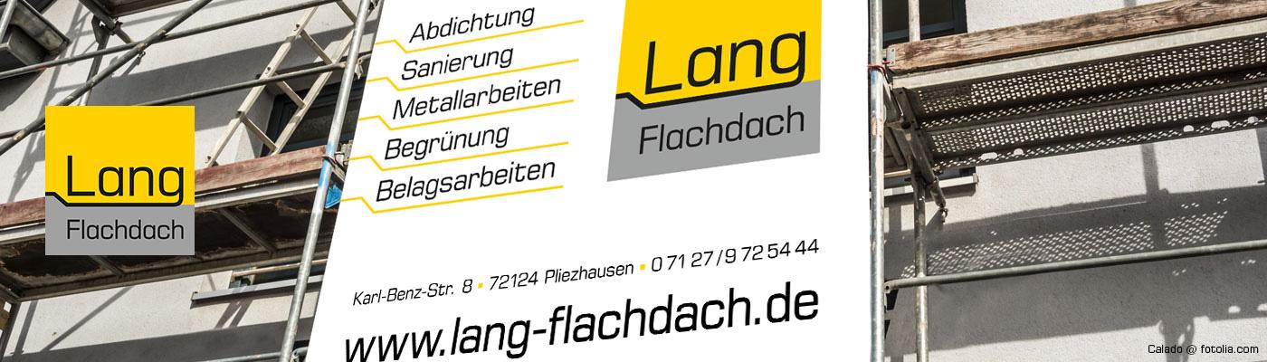 Lang Flachdach